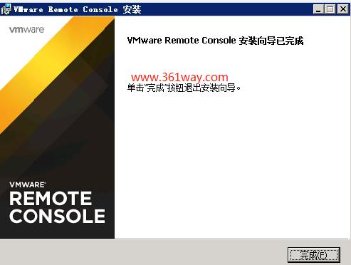 vsphere6.x下vmrc程序关联错误处理