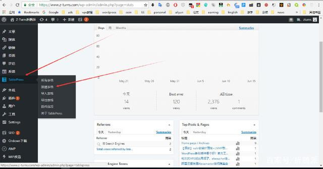 wordpress网站如何插入表格,两个途径教你简单上手